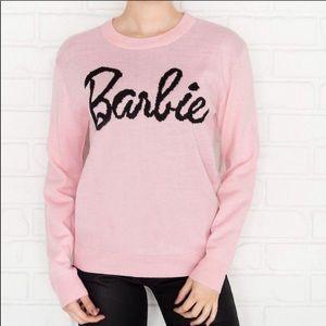 Barbie Collection Mattel Knit Crew Neck Sweater
